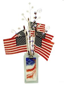 Free Patriotic Sparkler Plant Stakes Project Guide