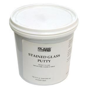 Glass Pro Black Putty Quart