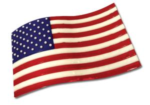 Free American Flag Art Panel Project Guide