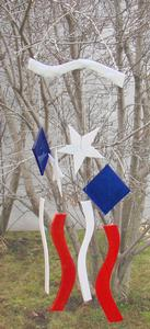 Stars and Stripes Wind Chime Free Project Guide