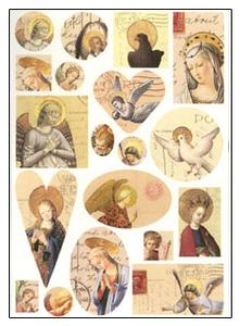 Angels Collage Sheet - 2 Pack