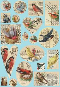 Birds Transfer Sheet - 2 Pack