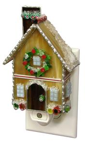 Free Stained Glass Mosaic Gingerbread Cottage Project Guide