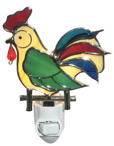 Pre-cut Rooster Night Light Kit