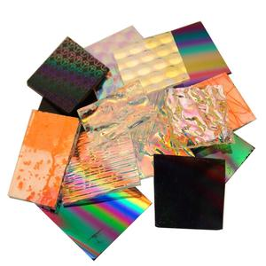 1/4 Lb Dichroic Assortment Pattern Scrap - 96 COE