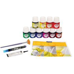 Premium pebeo glass painting starter kit delphi glass premium pebeo glass painting starter kit sciox Gallery