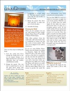 Aralia Leaf Lamp