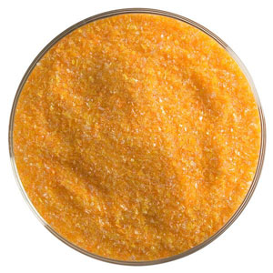 5 oz Tangerine Orange Opal Striker Fine Frit - 90 COE