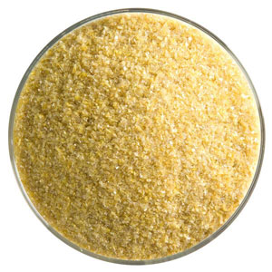 5 oz Golden Green Opal Fine Frit - 90 COE
