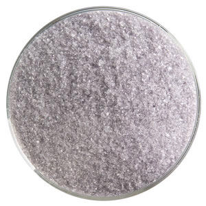 5 Oz Light Silver Gray Transparent Fine Frit - 90 COE