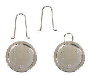 Round Silver Smart Pulls