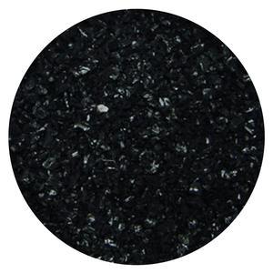4 Lb Black Opal Medium Frit - 96 COE