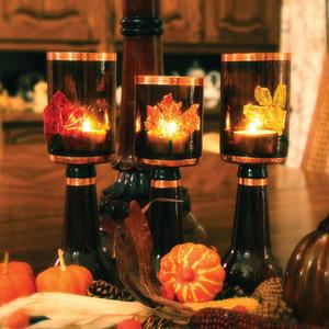 Free Harvest Votives Project Guide
