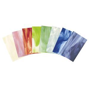 Bullseye Watercolor Streakies Glass Pack - 90 COE