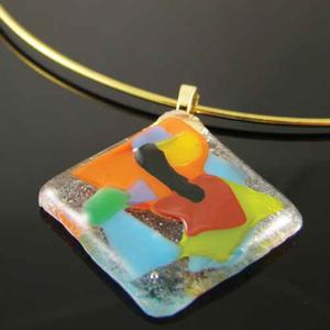 Fused Glass Jewelry For Sale