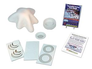 Starfire Drape Mold and Foot Casting Mold Bundle