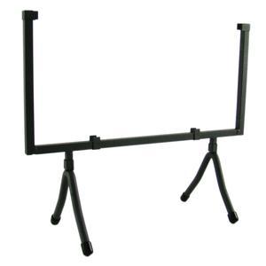 12 Square Black Iron Art Holder