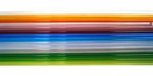 Fireworks Transparent Glass Rod 15 Piece Assortment - 104 COE