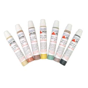 50 ml Glass & Metal Enamel Pack - 7 Colors