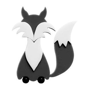 Gray Fox Fusible Pre-Cut - 96 COE