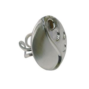 Modern Brushed Ring