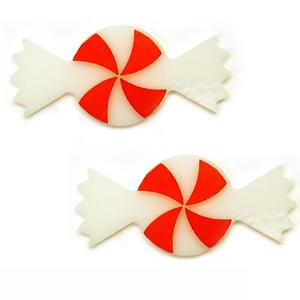 Peppermint Candy Fusible Pre-Cut 2 Pack - 96 COE