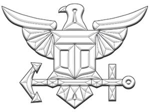 Navy Bevel Cluster