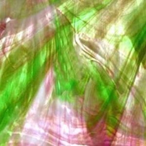 16 x 20 Wissmach Medium Purple and Medium Green Streaky