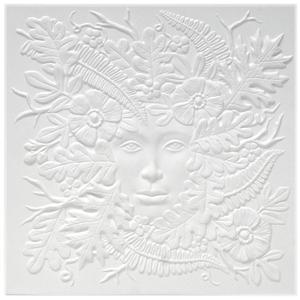 Lady of the Woods Texture Mold