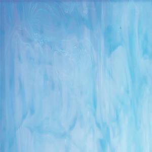 Oceanside White & Sky Blue Opal Streaky - 96 COE