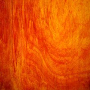 8 x 16 Kokomo Amber and Cerise Red Streaky Transparent Vertigo