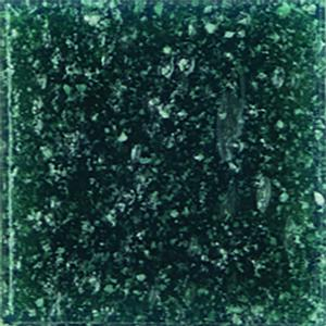 3/4 Peacock Venetian Glass Tile - 2.2 Lb